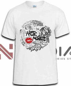 iniedia.com : Arctic Monkeys Theme tshirt