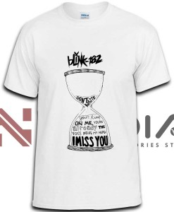 iniedia.com : Blink 182 I Miss You Lyric tshirt