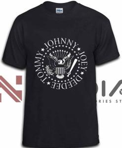 iniedia.com : Ramones Johnny Logo tshirt